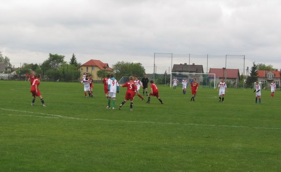 Małe Euro - mecz w Żyrzynie