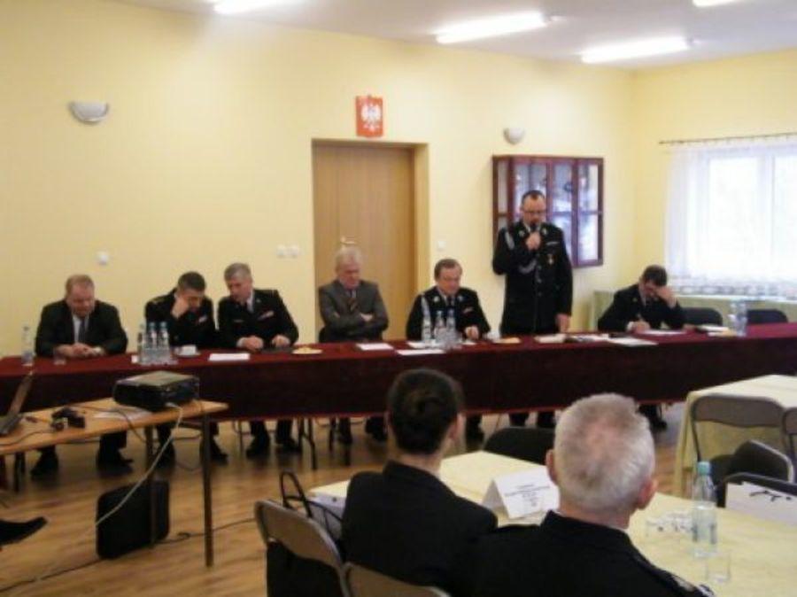 Posiedzenie zarządu powiatowego OSP