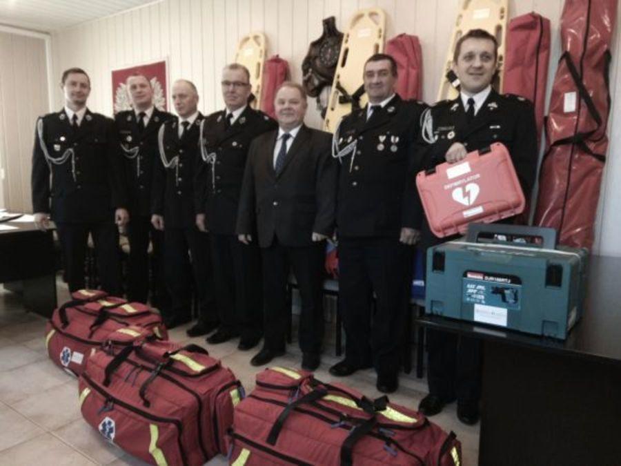 Sprzęt dla straży pożarnych