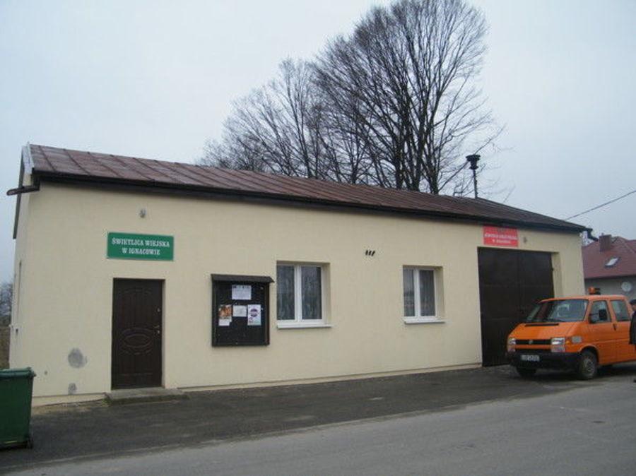 Remont, modernizacja i wyposażenie świetlicy wiejskiej w Ignacowie /OSP Ignaców/
