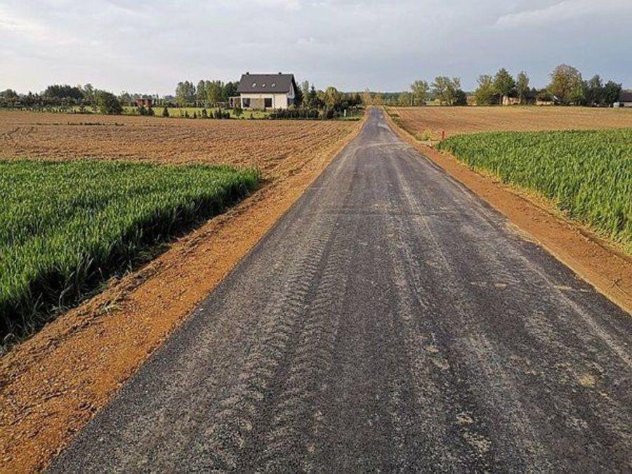 Droga w Palikijach gotowa