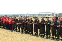 Zawody sportowo - pożarnicze - 08.07.2012r  w Krasieninie gm. Niemce