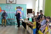 """Konkurs """"Gmina Wólka w przyszłości"""" rozstrzygnięty- atrakcyjne nagrody trafiły do dzieci i młodzież"""