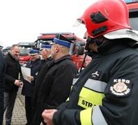 Nowe samochody ratowniczo - gaśnicze dla Ochotniczych Straży Pożarnych województwa lubelskiego.