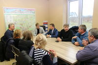 Goście z Ukrainy z wizytą u Pana Wójta