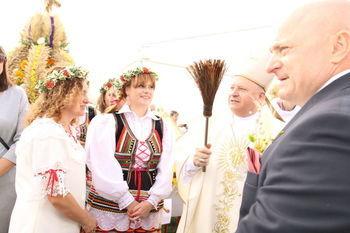Gmina Wólka na Dożynkach Wojewódzkich w Radawcu