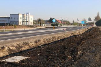 Inwestycje drogowe w Łuszczowie Pierwszym zakończone