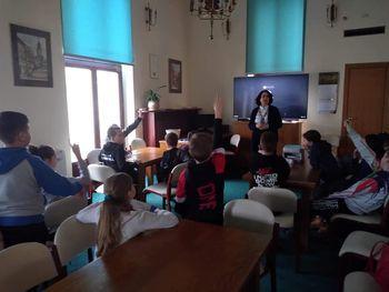 Wycieczka do NBP uczniów z Turki