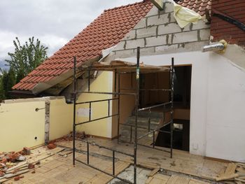 Intensywne prace budowlane w Kolonii Pliszczyn- będzie tam Żłobek Gminny Maluszek
