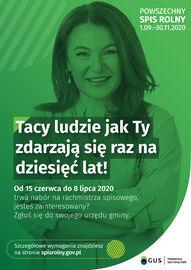 Powszechny Spis Rolny w 2020 r.