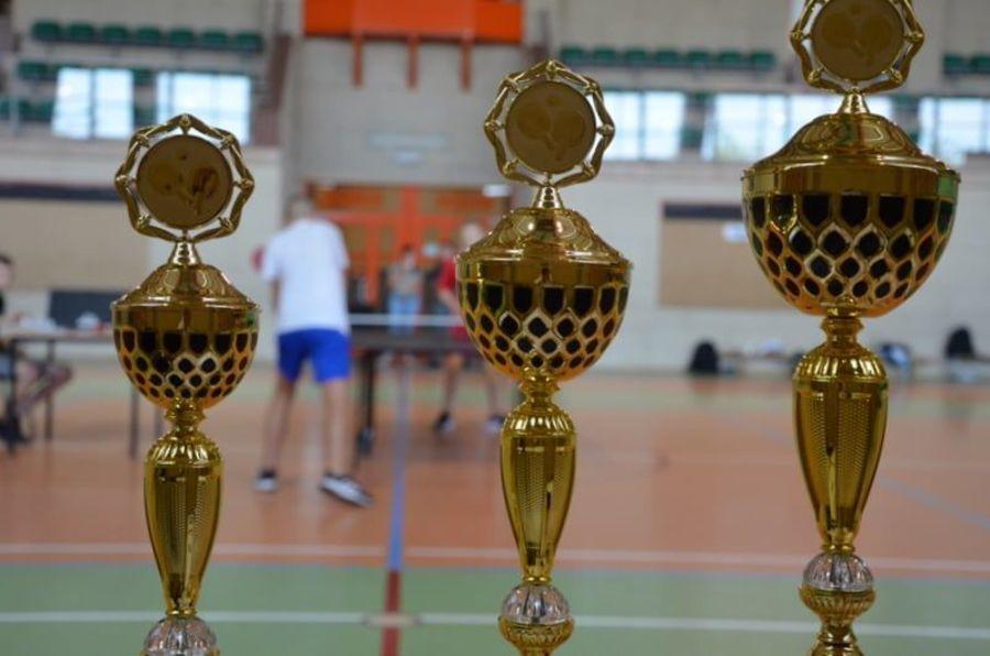 zawody w tenisie stołowym GCKiS