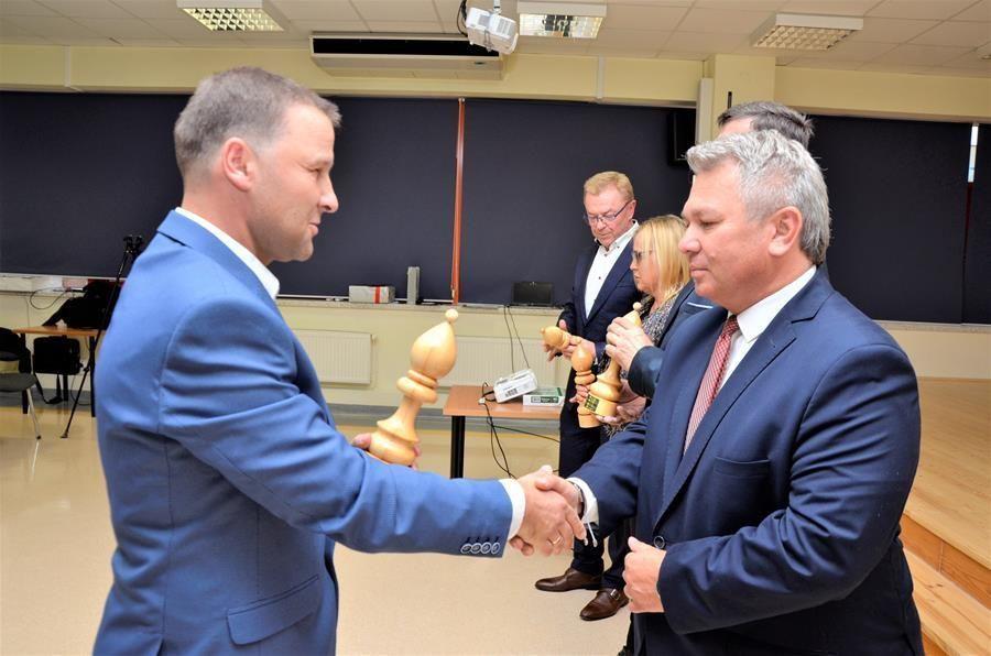 jubileusz klubu szachowego Goniec Żarów