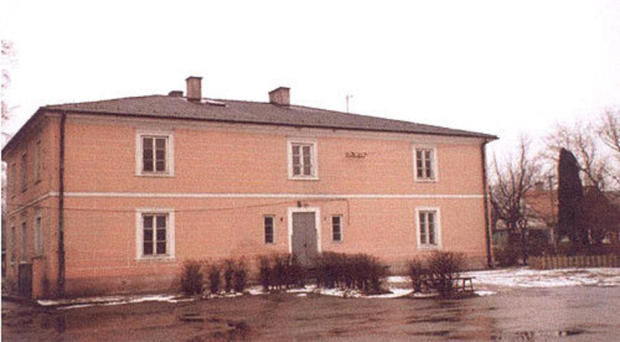 Budynek byłej Szkoły Podstawowej w Kamionce