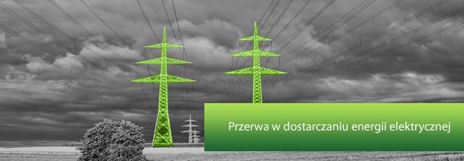 Zawiadomienie o  planowanej przerwie w dostarczaniu energii elektrycznej w dniu 28.05.2013