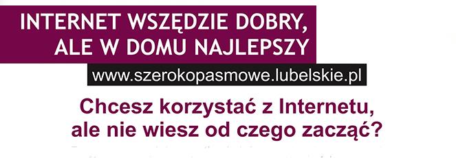 Promocja projektu Sieć Szerokopasmowa Polski Wschodniej