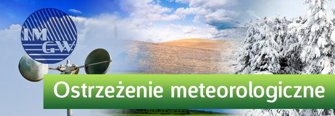 OSTRZEŻENIE O OPADACH MARZNĄCYCH Z DN. 29.12.2014