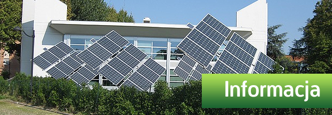 Informacja z dn. 30.03.2015 r. dotycząca kolektorów słonecznych