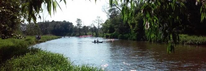 Regaty kajakowe na rzece Wieprz