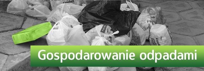 Ogłoszenie Wójta Gminy w sprawie odpadów komunalnych