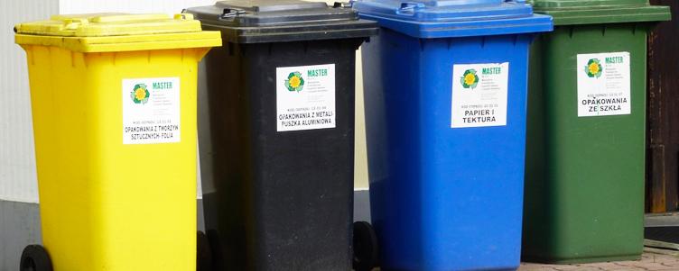Obowiązek prawidłowej segregacji odpadów.