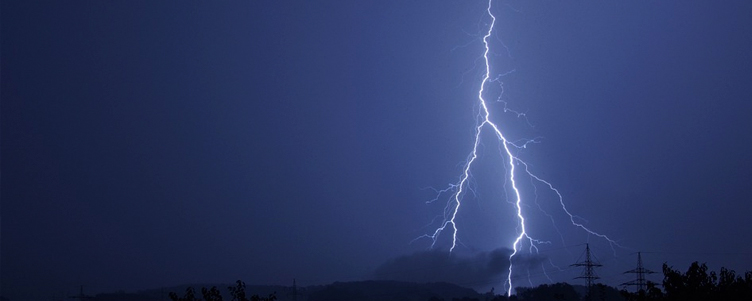 Ostrzeżenie o burzach z gradem