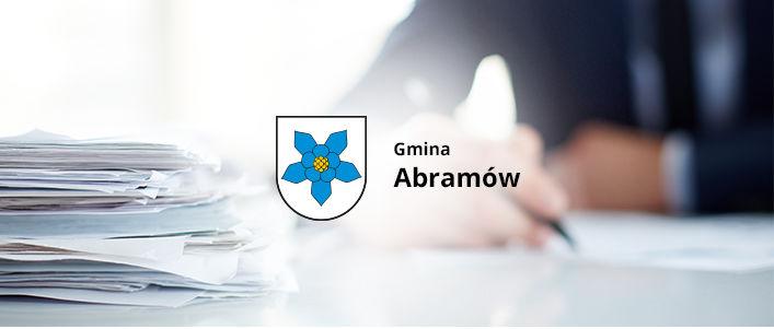 logo gminy Abramów