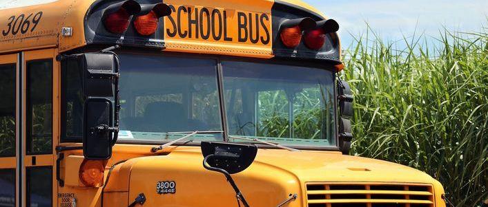Grafika ogólna- school bus- żółty autobus