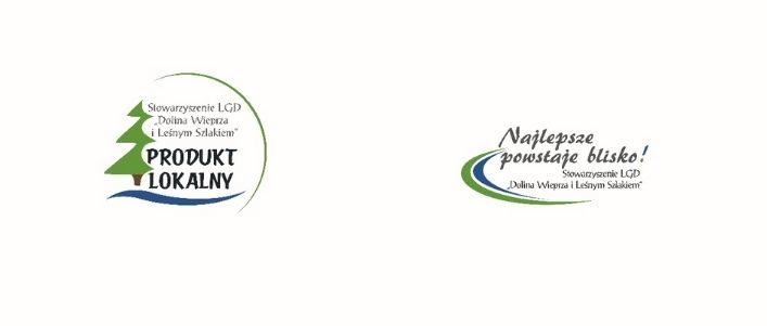 Logotypy FESTIWAL PRODUKTÓW LOKALNYCH