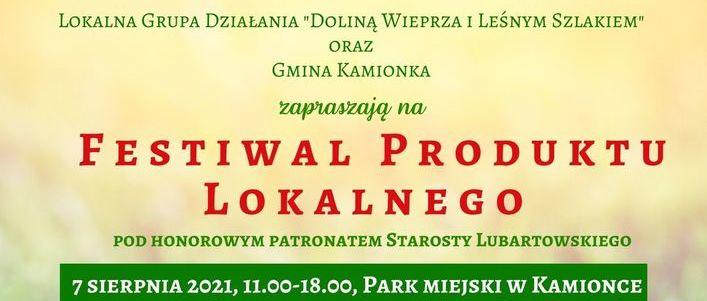 Kawałek plakatu festiwalowego