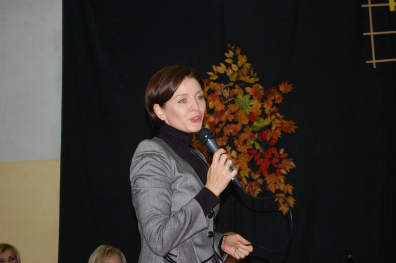 WIZYTA MINISTER JOANNY MUCHY W ANNOPOLU