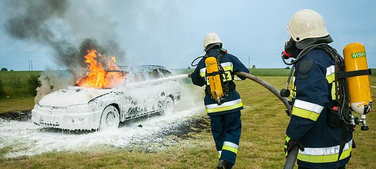 Pielgrzymka strażaków