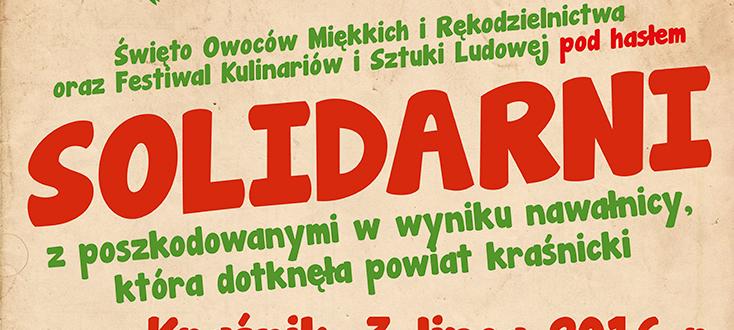 Święto Owoców Miękkich i Rękodzielnictwa oraz Festiwal Kulinariów i Sztuki Ludowej