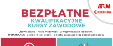 Zapisz się na bezpłatne kwalifikacyjne kursy zawodowe w Kraśniku