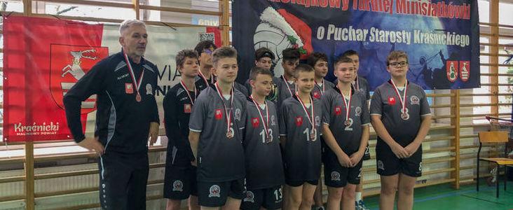 XII Ogólnopolski MIKOŁAJKOWY Turniej Piłki Siatkowej  O Puchar Starosty Kraśnickiego
