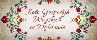 Koło Gospodyń Wiejskich w Dąbrowie
