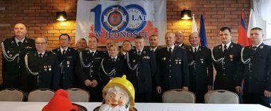 Zjazd Sprawozdawczo-Wyborczy Oddziału Miejsko-Gminnego Związku OSP RP w Annopolu.