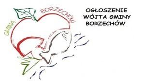 OGŁOSZENIE  WÓJTA GMINYN BORZECHÓW  o otwartym konkursie ofert 18.12.2015 r