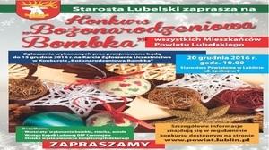 Starosta Lubelski - Paweł Pikula serdecznie zaprasza Mieszkańców Powiatu Lubelskiego