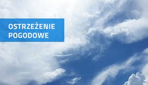 Ostrzeżenie o silnym wietrze z dn. 12.07.2017 r.