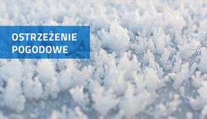 PROGNOZA NIEBEZPIECZNYCH ZJAWISK METEOROLOGICZNYCH z DN. dnia 22.02.2018