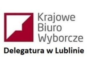 Informacja Dyrektora Delegatury Krajowego Biura Wyborczego w Lublinie
