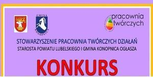 Powiat Lubelski oraz Gmina Konopnica ogłaszają konkurs dla mieszkańców Powiatu Lubelskiego na najpiękniejszą kartkę wielkanocną inspirowaną ludowym folklorem