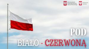 konkurs flaga biało czerwona