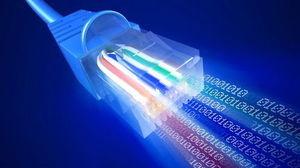 widok kabla sieci lan