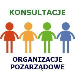logo konsultacji organizacji pozarządowych