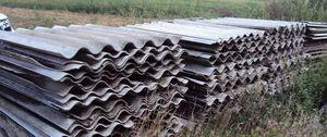 zdjęcie płyt azbestu