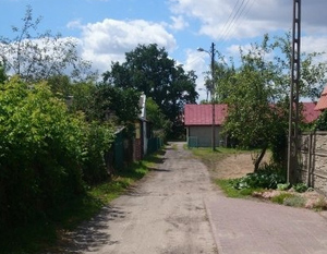 Budowa sieci wodociągowej w ul. Staromiejskiej oraz sieci kanalizacji sanitarnej  w ul. Pułaskiego.