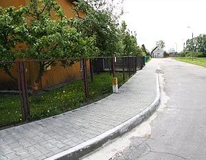 Budowa chodnika w ul. Starej