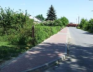 Budowa chodnika w ul. Staszica