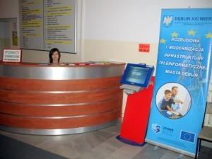 Rozbudowa i modernizacja infrastruktury teleinformatycznej miasta Dęblin